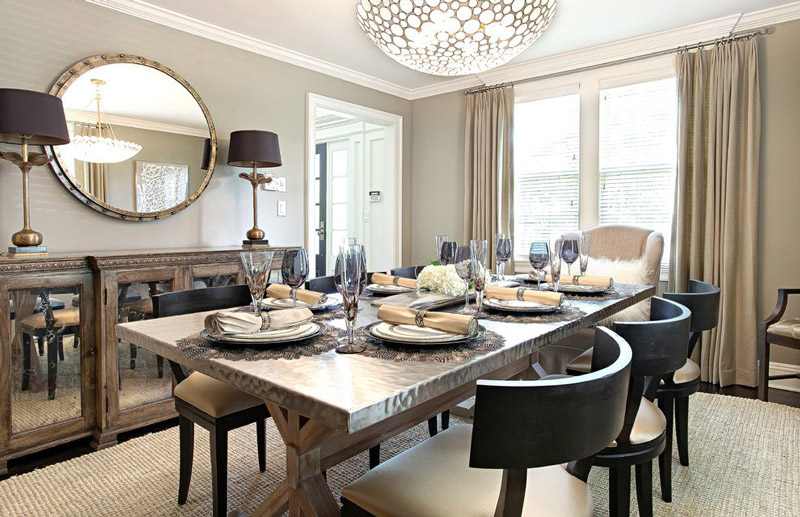 Beige-Dining-Chair-And-Beige-Dining-Chair-Beige-Armchair-Curtain-Dining-Chair-Wall-Bowl-Chandelier-Dark-Wood-Room-Gold-Mirror-Table-Lamp-Metal-Mirrored-Buffet-.jpg
