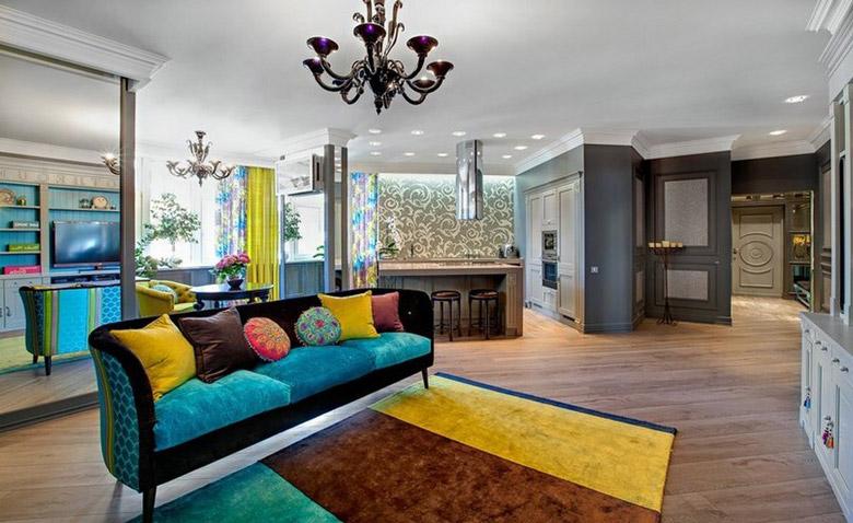 همه چیز دربارۀ روانشناسی رنگها در دکوراسیون منزل