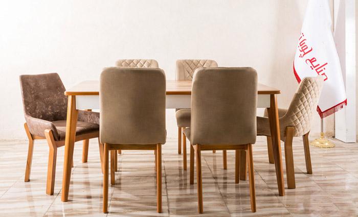 میز و صندلی ناهارخوری مدیا