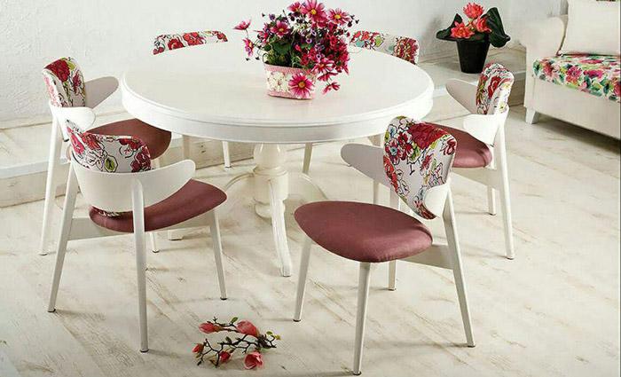 میز و صندلی ناهارخوری میلانو