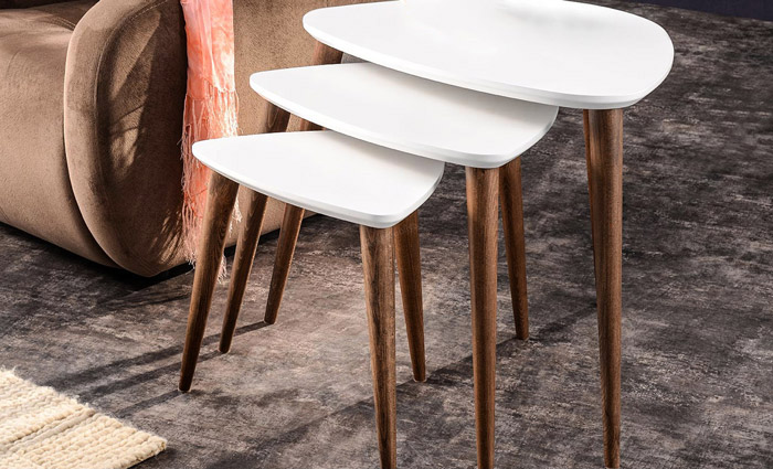 میز عسلی سه تیکه مدل سورنا