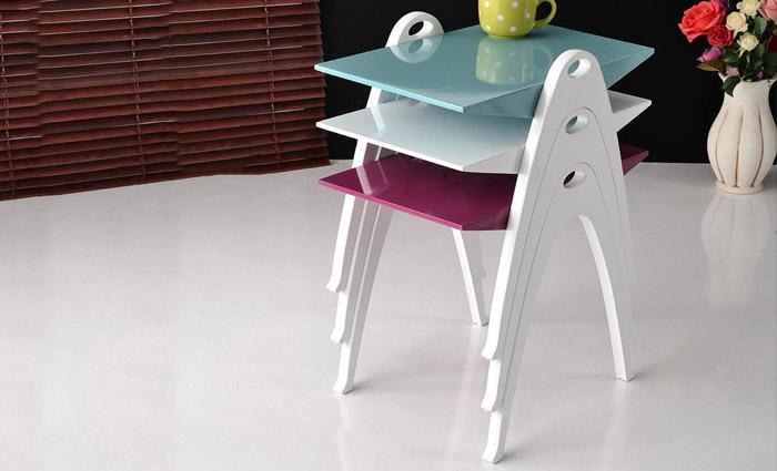 میز عسلی سه تیکه مدل جگوار