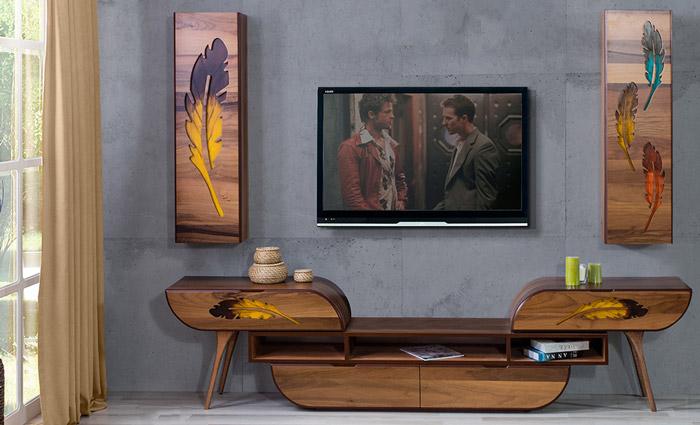 میز تلویزیون مدل مهتاب