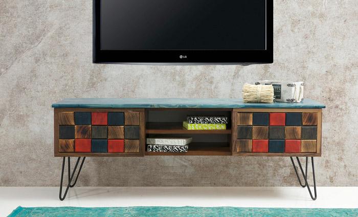 میز تلویزیون مدل پازلی