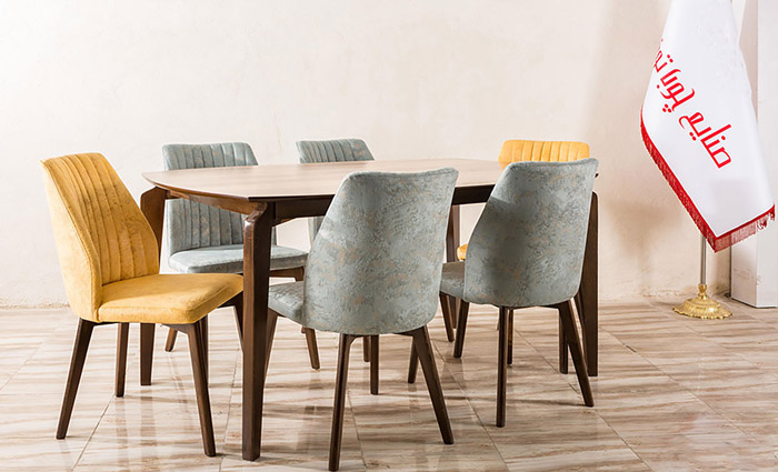میز و صندلی ناهارخوری مدل آنجل