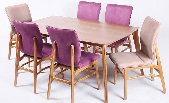 میز و صندلی ناهارخوری مدل کاملیا