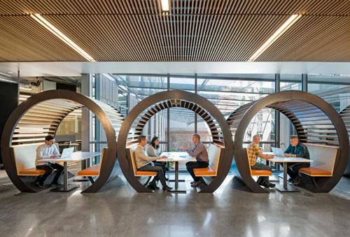 اصول چیدمان و طراحی دفتر کار مدرن