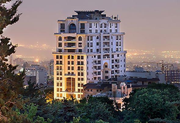 عکس شیک ترین و زیباترین پنت هاوس های ایران و جهان
