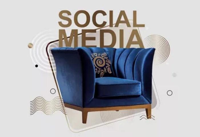 نقش شبکه های اجتماعی و تاثیر آن در افزایش فروش مبلمان