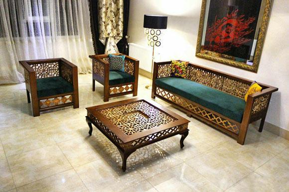 15 مدل تخت سنتی در منزل