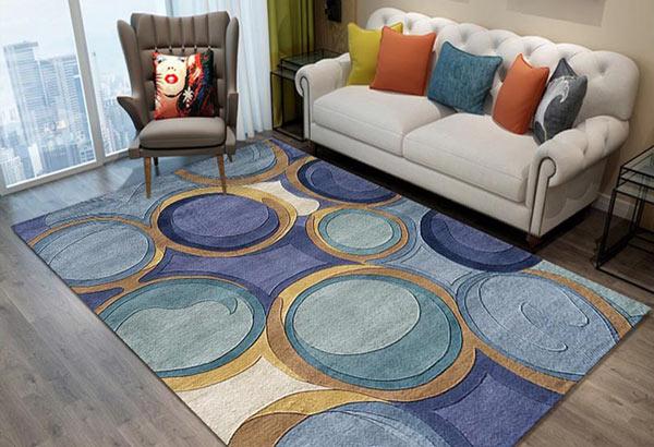 به فرش آبی مبل چه رنگی میاد؟