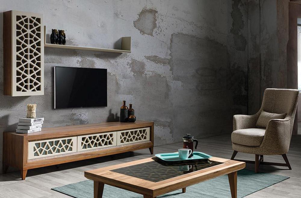 میز تلویزیون مدل کسری