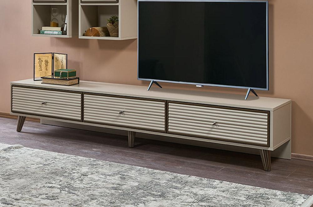 میز تلویزیون مدل کرکره ای