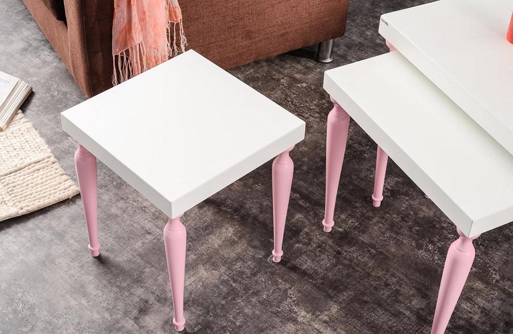 میز عسلی 3تیکه مدل نانسی