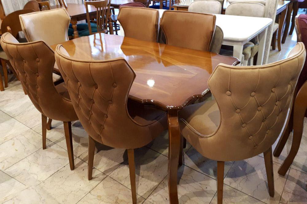 میز و صندلی ناهارخوری کویین