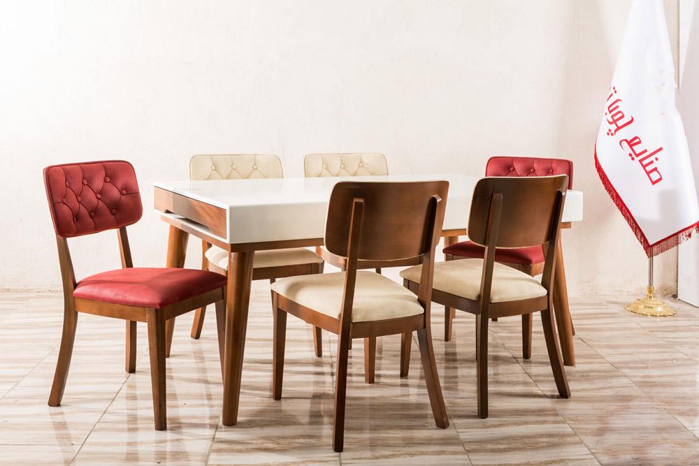 میز و صندلی ناهارخوری لیون