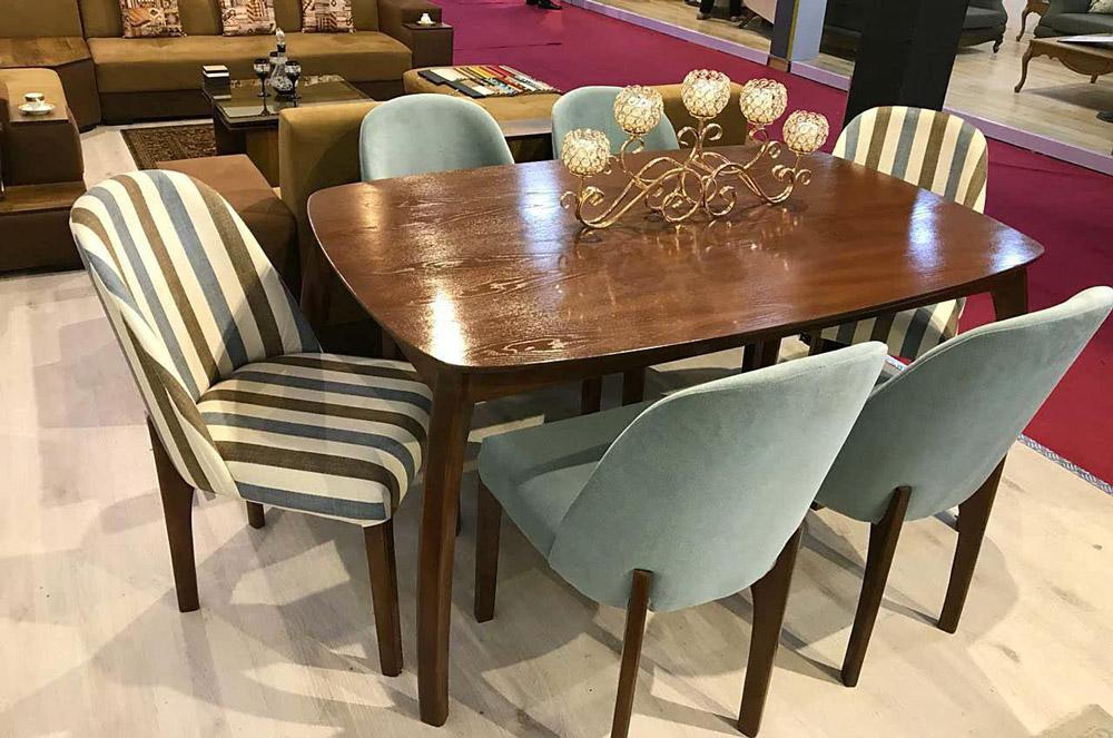 میز و صندلی ناهارخوری بوگاتی