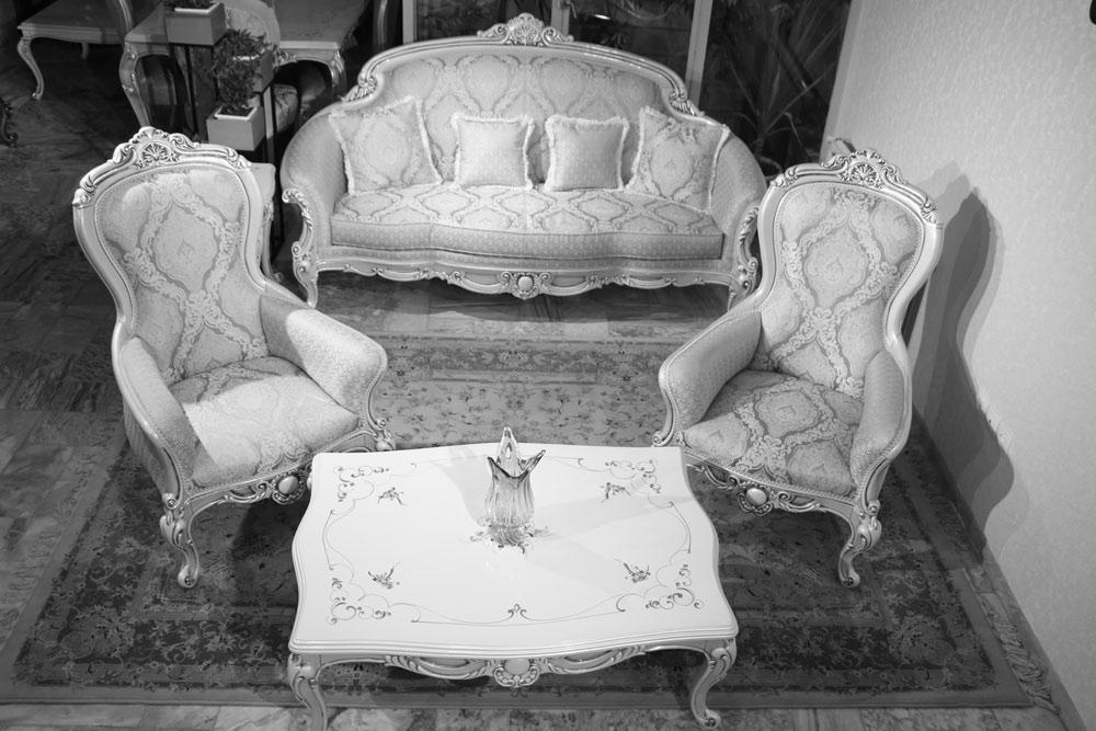 مبل کلاسیک مدل آلبرتا