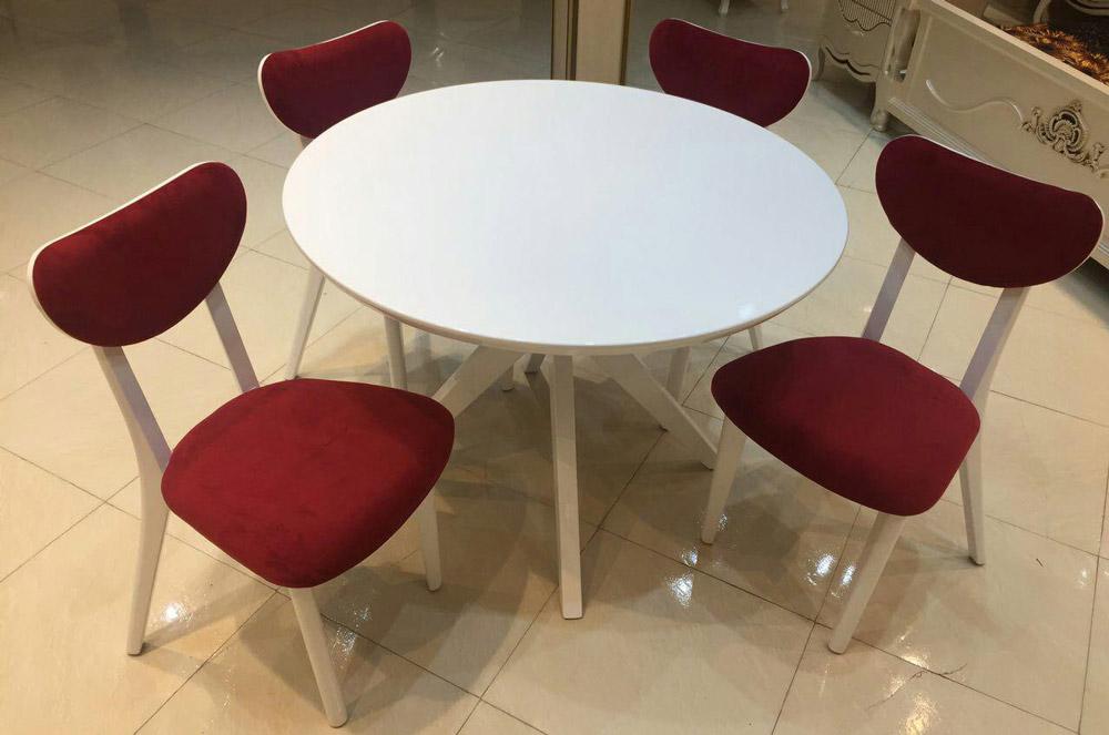 میز و صندلی ناهارخوری اپل