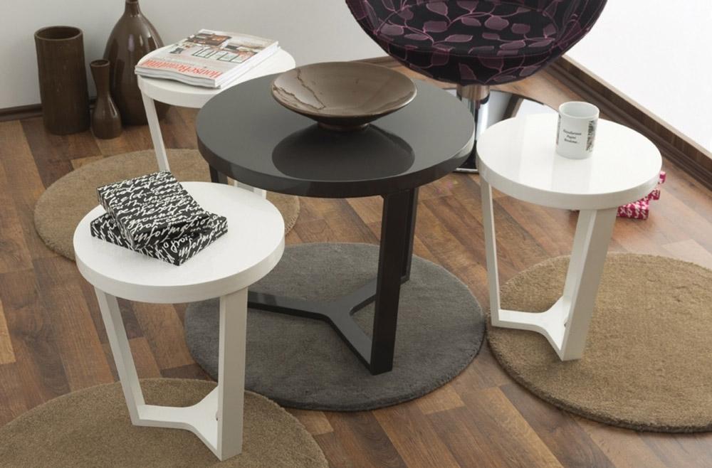 میز عسلی 3تیکه مدل رونیکا