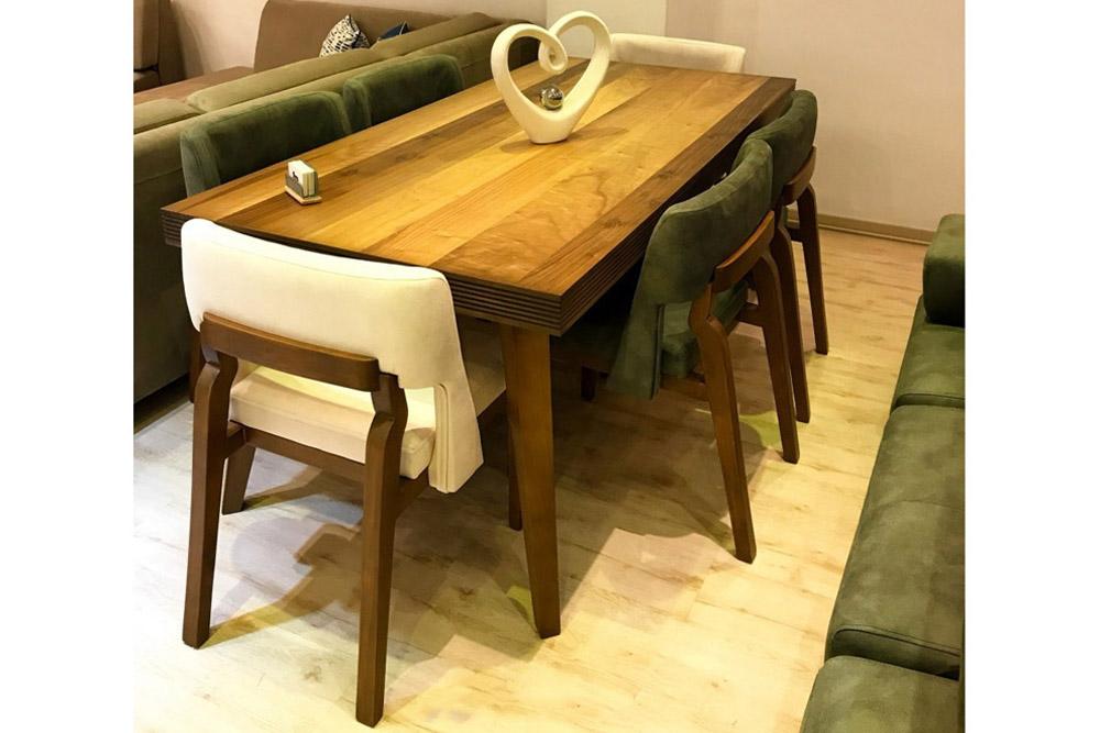 میز و صندلی ناهارخوری پارما