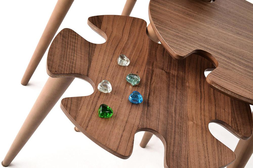 میز عسلی سه تیکه مدل پیکاسو