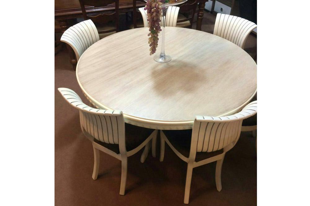 میز و صندلی ناهارخوری ژوبین