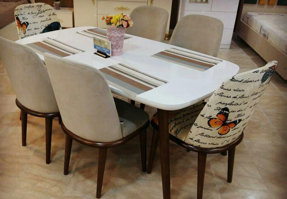 میز و صندلی ناهارخوری ماهان